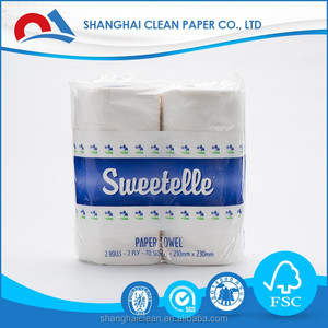 wholesale high quality cheap virgin Cleaning paper towel roll Jumbo kitchen paper towel coil kitchen towel paper