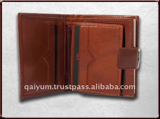 Slim wallet for women, cow leather small lady hand purse