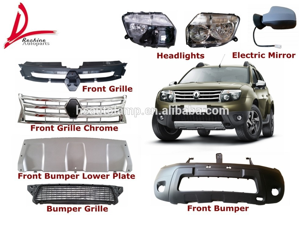 renault duster chrome front grille 623825665R