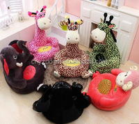 Free sample baby chair dinning animal plush sofa