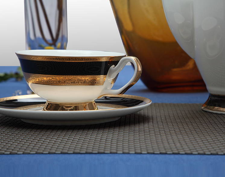 bone china tea cup and saucer