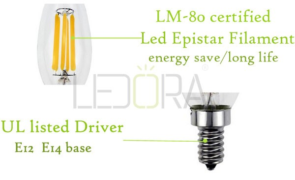 Enery Saving Best Price Led 4000k Dimmable Vintage Led Filament ...