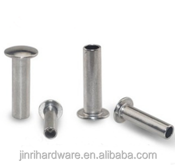 M2 M3 Stainless Steel Truss Head Half Hollow Rivet Screws Pan Head Rivet  Semi-hollow Screw - Buy M2 M3 Stainless Steel Truss Head Half Hollow Rivet