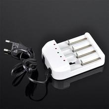 Hot Selling EU Universal i4 Intelligent Li-ion/NiMH 18650/26650/AA/AAA Battery Charger 4 Output B3121