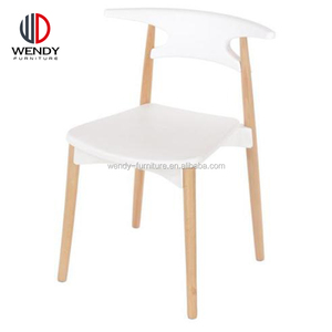 germany style dinging room furniture plastic dining chairs wood legs dining chairs