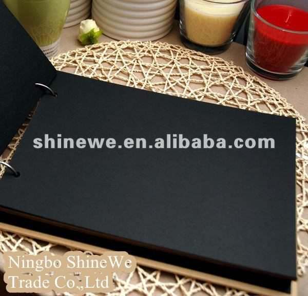 noir carton papier photo album papier d 39 impression id de. Black Bedroom Furniture Sets. Home Design Ideas