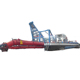Sand Dredging Barge Equipped with Cutter Head and Pipeline