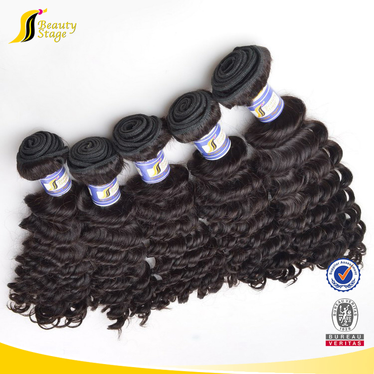 2018 100% Raw Human Hair wave high quality beauty kazakhstan hair