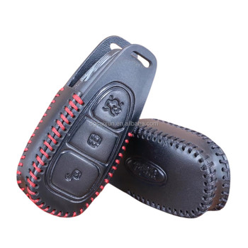 Leather Remote Key Case Cover For Ford Fiesta Focus 3 4 Mk3 Mk4 Mondeo Ecosport Kuga Focus St Buy For Ford Key Case For Ford Key Cover Fiesta Focus