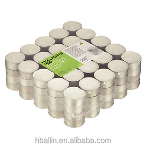 12g unscented white tea light candle sell in bulk