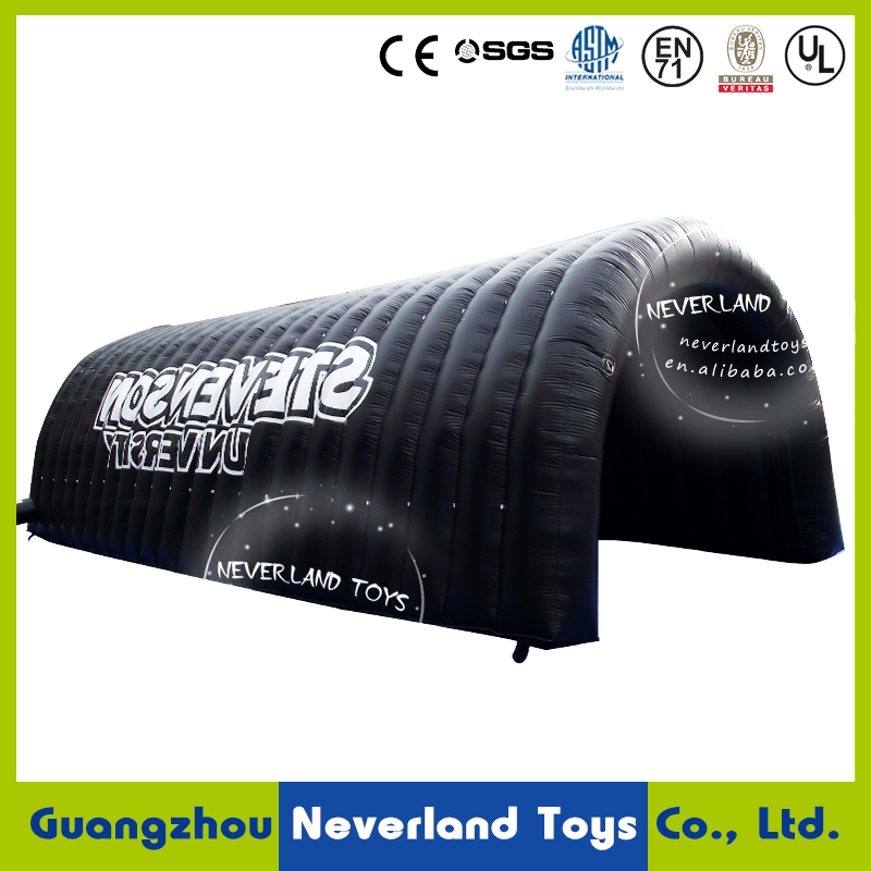 Hot sale inflatable tunnel with logo printing