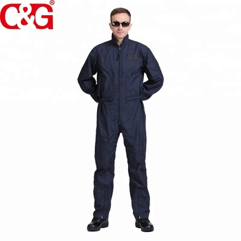Navy Blue Nomex Flight Coverall military uniform made in china