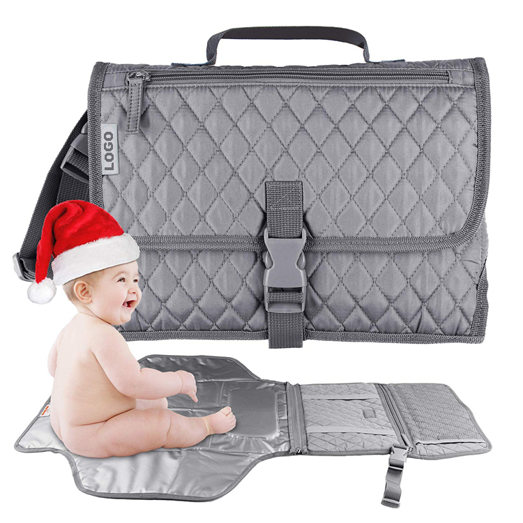 Wholesale Portable Baby Diaper Bag Baby Changing Station Clutch Bag