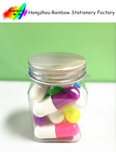pharmaceutical/medicine promotional gift-capsule shape highlighter/Multicolor pill highlighter pen