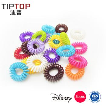 Eco-friendly Tpu Elastic Telephone Line Wire Elastic Hair Tie For Kids  Women - Buy Plastic Hair Ties 497692c20b1