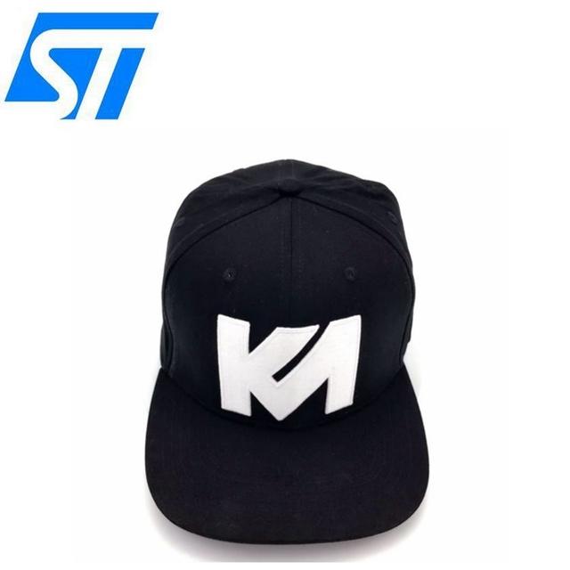65dffb6d3589f Elastic Sweatband Flex Fit Caps Custom Fashion 3D embroidery Snapback Cap  And Hat