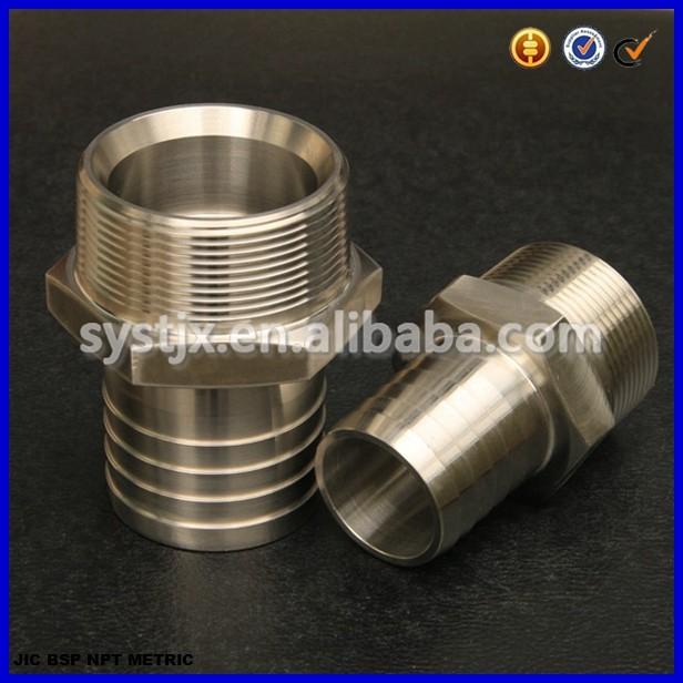 Bsp bspt npt threaded male stainless steel fitting buy