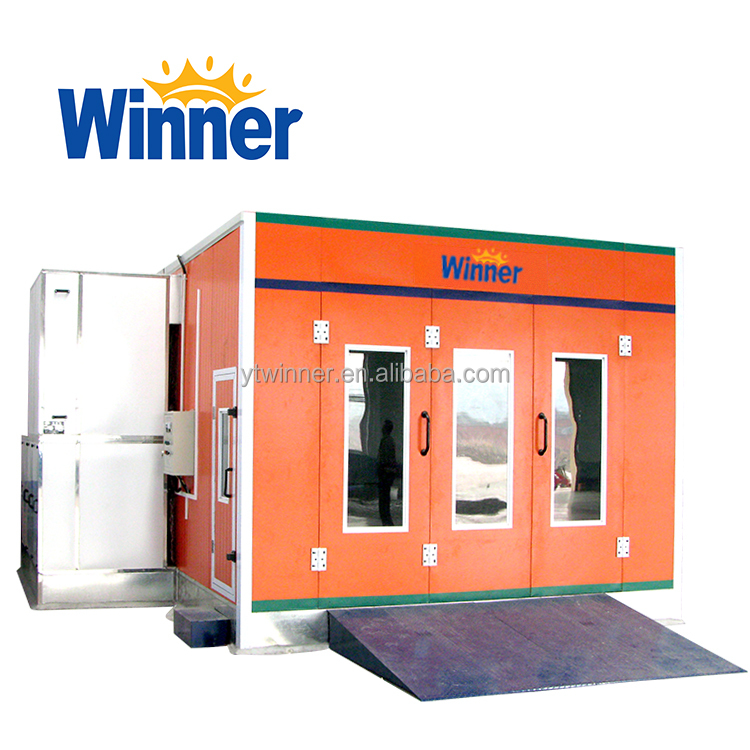 WINNER M3200A Durable Used Car Spray Booth for Sale with Resonable Prices