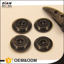 DIAN good quality natural horn botones black horn buttons many sizes