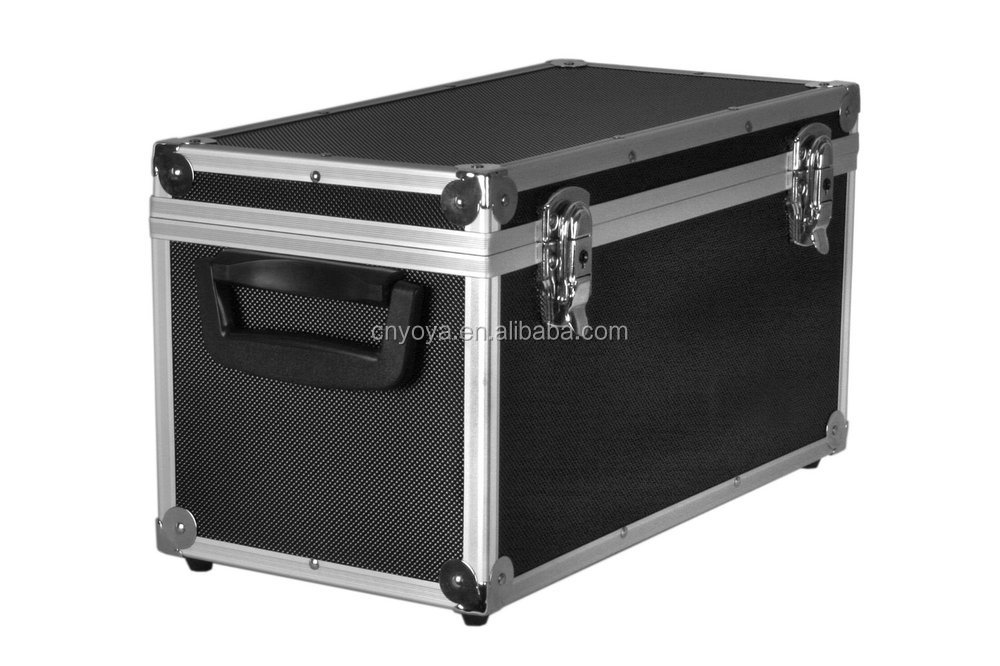 Aluminium Record Carrying Storage Flight Case For Up To