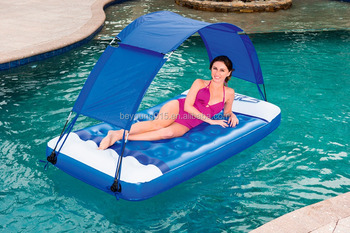 2017 Newest Bestway Sun Shade Inflatable Air Lounge Water