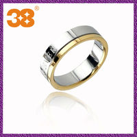China Manufacturer Fashion Custome Jewelry Stainless Steel D Ring