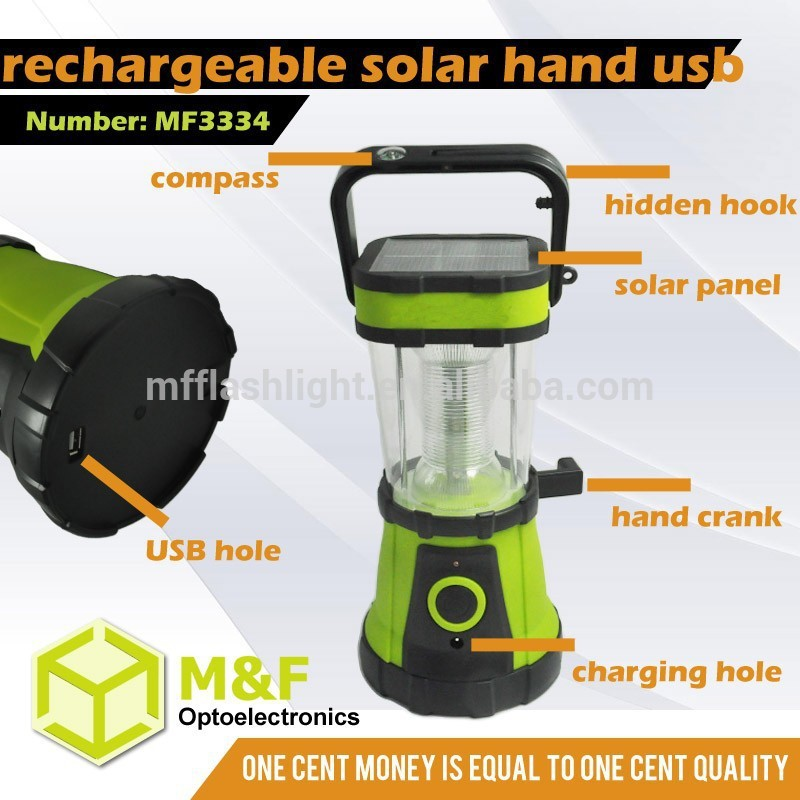 Competitive Price Solar Lantern With Mobile Phone Charger