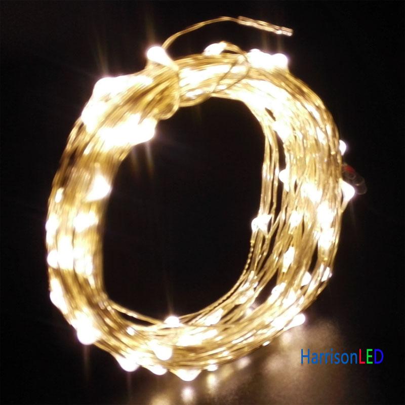 2M 5M 10M 50M 100M 200M copper wire ultra thin led fairy led string ...
