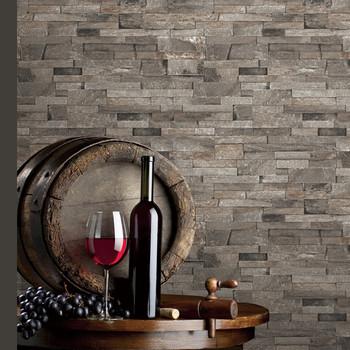 New 3d Stone Wallpaper Fashion Natural Bricks Design Wallpaper Buy Natural Stone Wallpaper Fashion Design Wallpapers White Brick Wallpaper Product