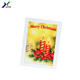 OEM Wholesale lenticular happy birthday christmas heart shape handmade 3d greeting card