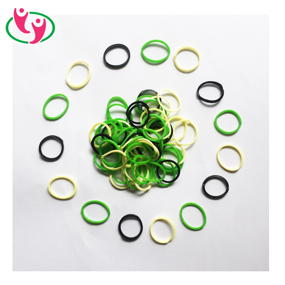 Eco Friendly Colorful Mini Rubber Band