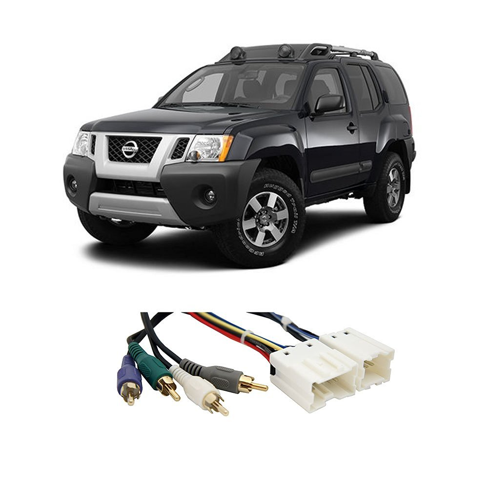 Fits Nissan Xterra 2000-2004 (Premium) Factory to Aftermarket Radio Harness