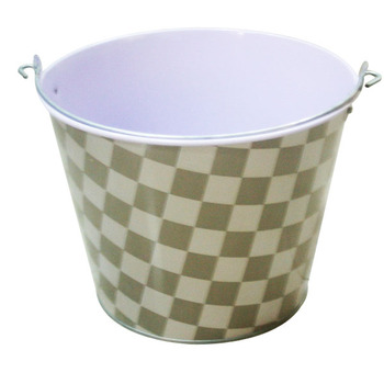 Popular Galvanized Metal Ice Bucket for promotion