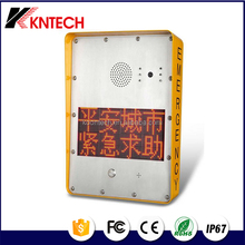 koontech KNZD-33MT lightning proof protection alarm fire telephone for highway traffic LED light