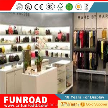 Handbag Counter Design Wood Furniture For Hand Bag Retail From Shenzhen