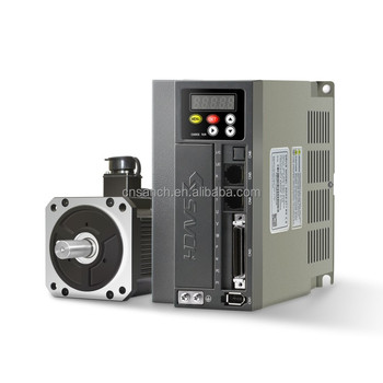 Updated CE quality servo controller 220v single phase to three phase phase 0.75kw 2000rpm servo motor controller