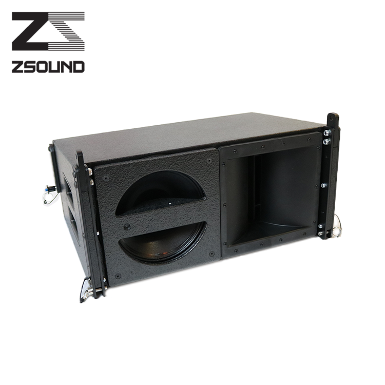 Zsound active haut-parleur ev prix + line array chine + pro sonore à l'intérieur line array