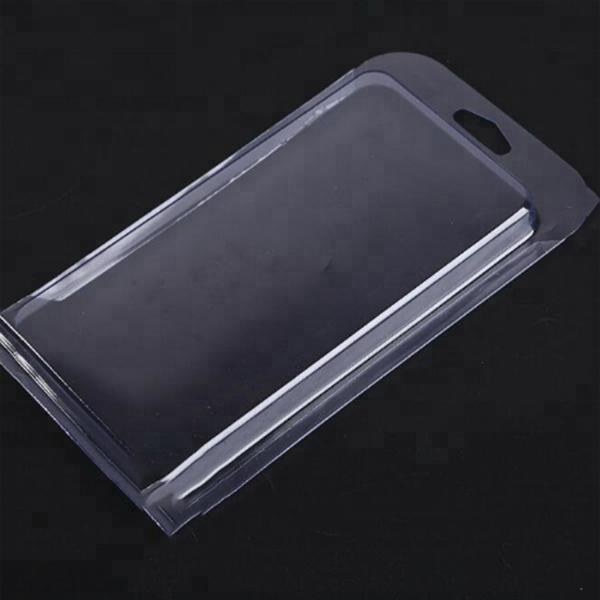 Transparante Custom PVC Plastic Telefoon Case Blister Verpakking
