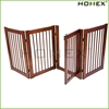 Durable Wood Portable Dog Fence with Door Homex_BSCI Factory