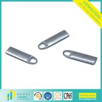 Large quantity stock metal zipper pulls for sale