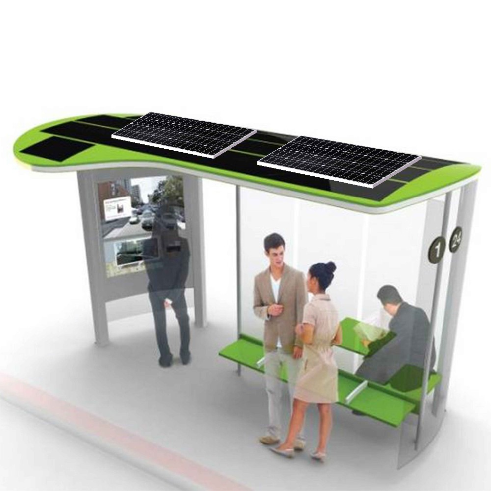 product-YEROO-Customized stainless steel Solar Bus Stop Station-img-6