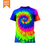 Custom Men Fashion Wholesale Fashion T-Shirt Mens Tie Dye T-Shirt,Tie Dye Festival Style T-Shirt,