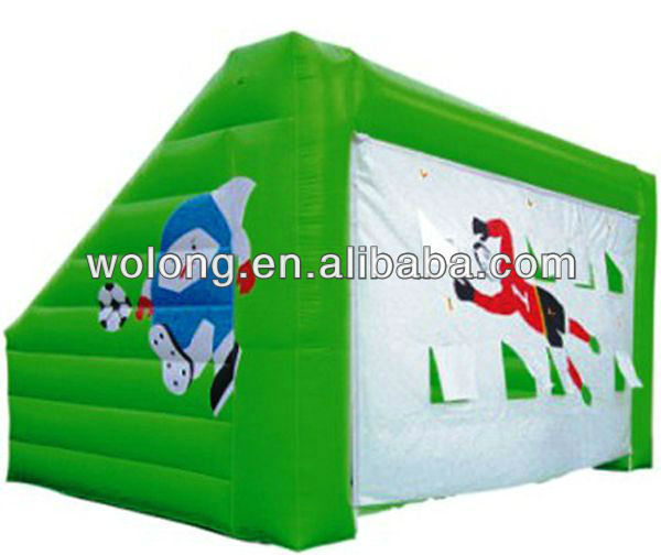 outdoor inflatable sports game, kids football fence
