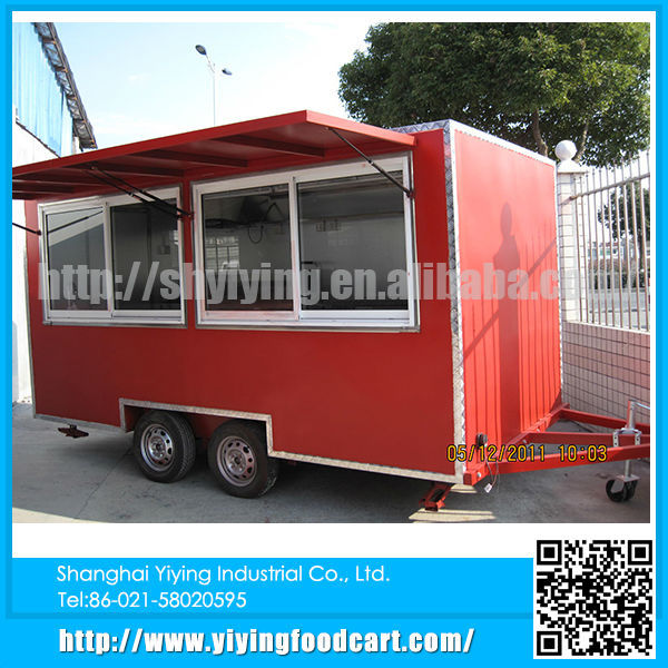YY-FS400C 2015 insulated pick up bodies mini loading outdoor kiosk