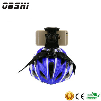 New Design cell phone holder for bicycle helmet