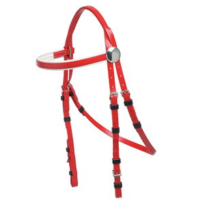 Horse Equipment Custom Fancy PVC Horse Bridles for Multi-size Horse