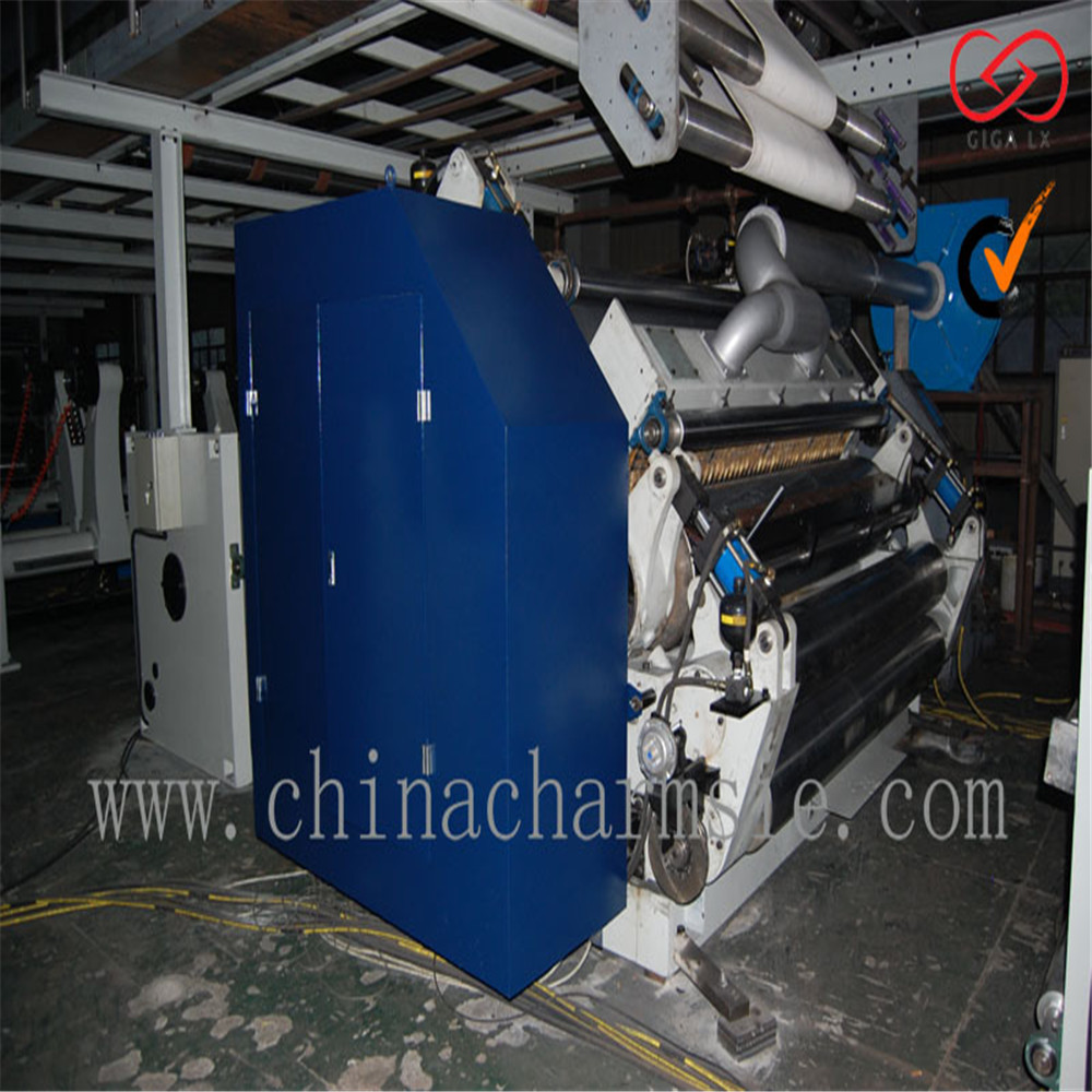 GIGA LXC 410SFM corrugated carton paper feeder in packaging line with corrugated cardboard making machine
