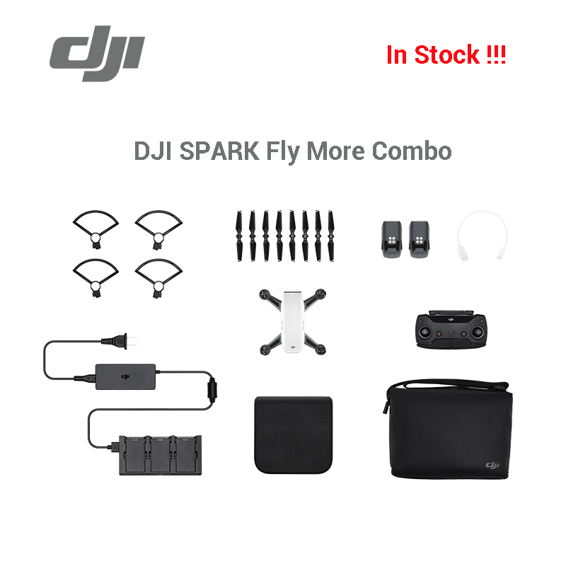 new arrival dji spark fly more combo drone gps glonass gesture control with remote controller. Black Bedroom Furniture Sets. Home Design Ideas