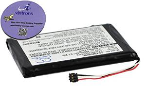 vintrons (TM) Bundle - 1000mAh Replacement Battery For GARMIN Approach G6, + vintrons Coaster