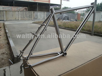 Cyclocross titanium bicycle frame CX WTL-S046